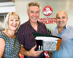 Cromie Holden have donated $10,000 cash towards the Camera Obscura Sculpture!